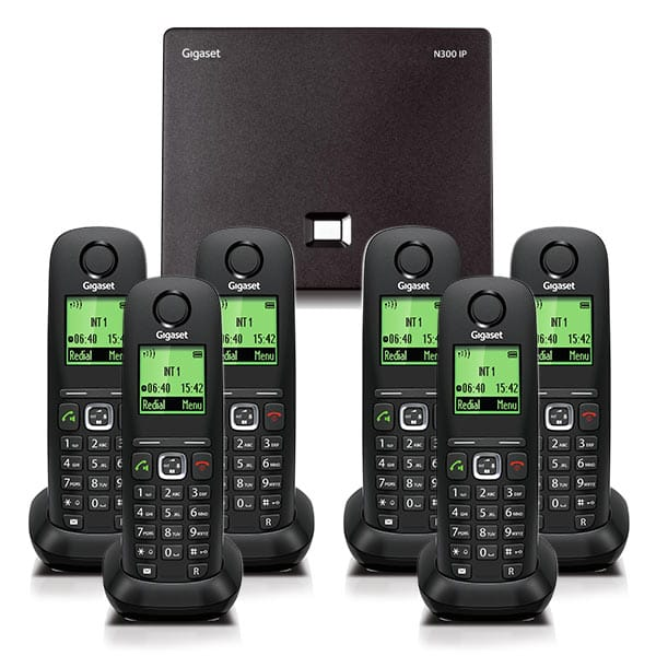 N300IP and A540H handset bundle Six handset
