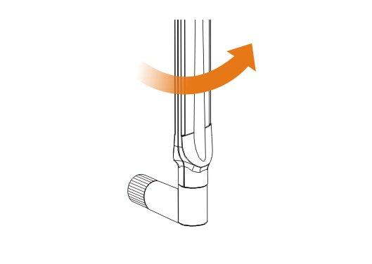 Adjust to proper position ANT-1207