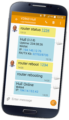 Vigor 2862Ln Text Message (SMS) Control & Reporting
